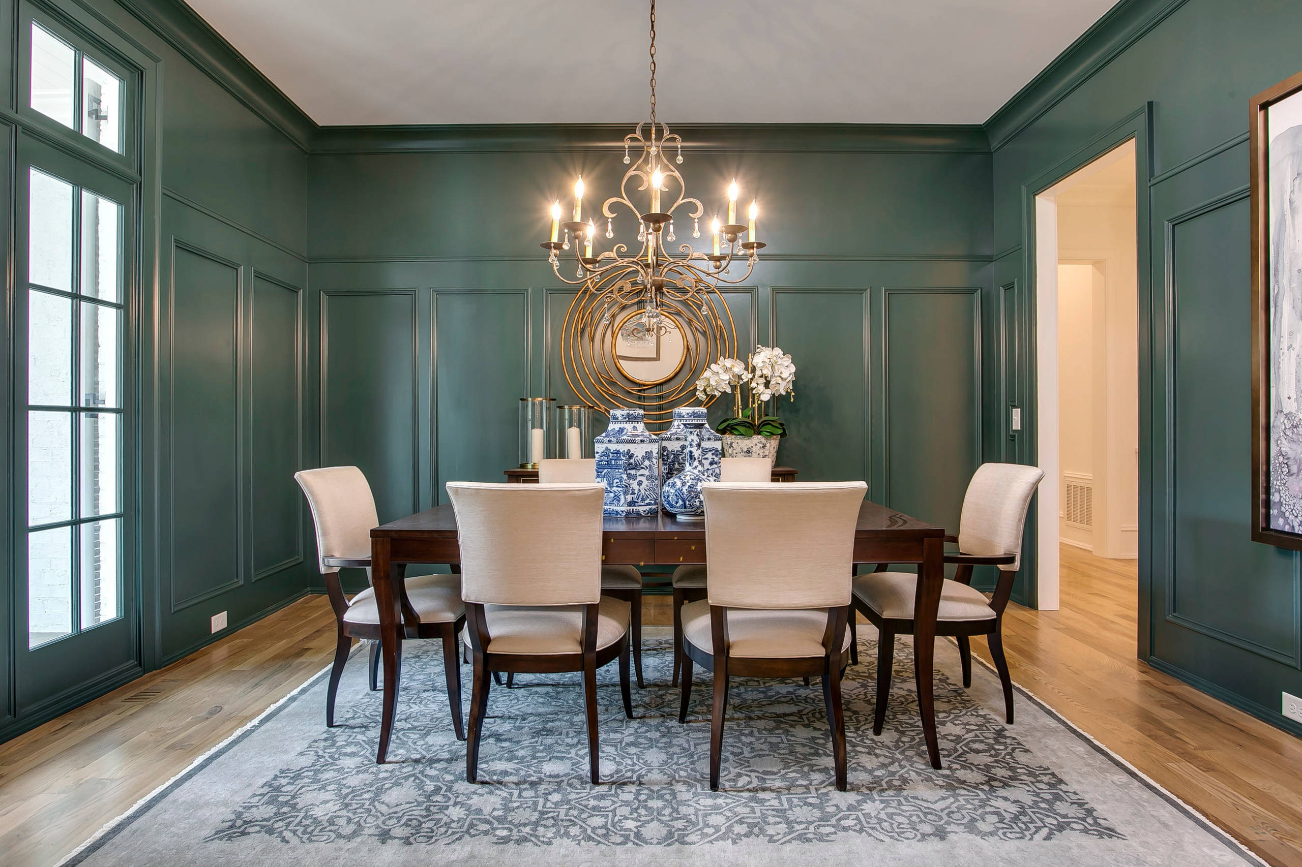 75 Beautiful Traditional Turquoise Dining Room Pictures Ideas February 2021 Houzz