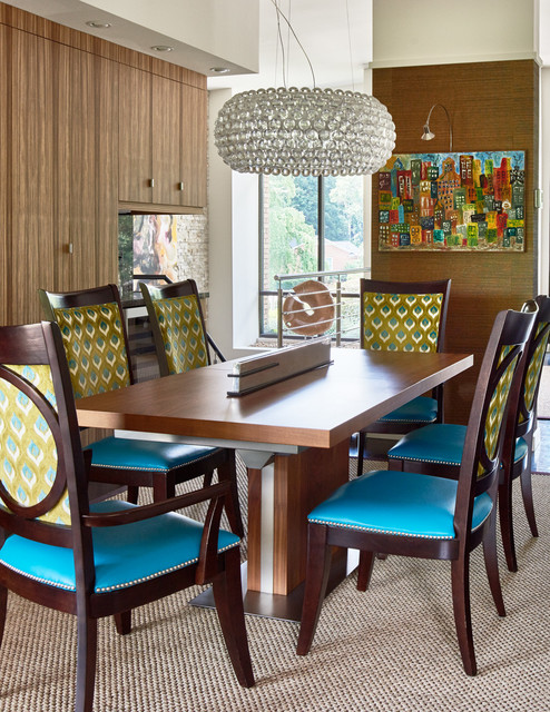 Mad About Modern Midcentury Dining Room Charlotte By