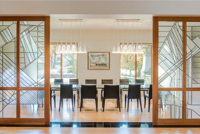 Maffitt Lake Residence Contemporary Dining Room