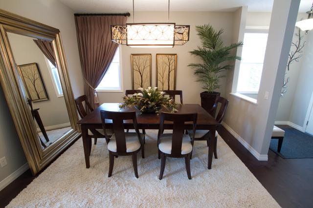 Mahogany - Jayman MasterBUILT modern-dining-room