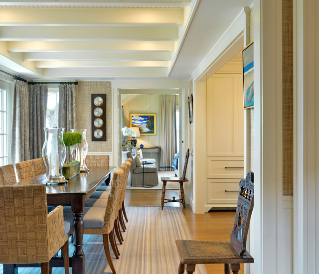 Dining Room Ideas Houzz: Maine Retreat