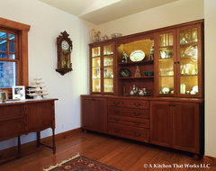 Making a Custom Home Complete craftsman-dining-room