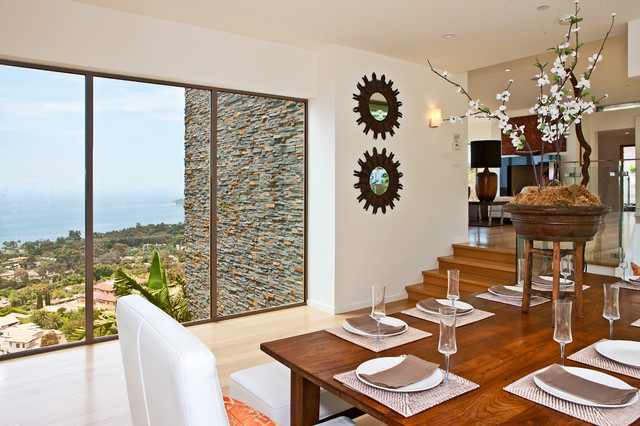 Malibu Home For Sale • 27312 Winding Way contemporary-dining-room