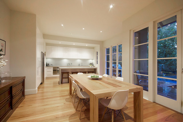 Malvern East Residence: Alterations and Additions contemporary-dining-room