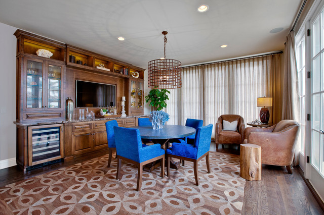 Manhattan Beach Hill Section Interior Design Traditional Dining Room Los Angeles By