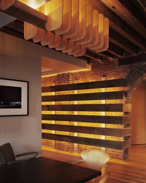 Beach Street Loft modern-dining-room