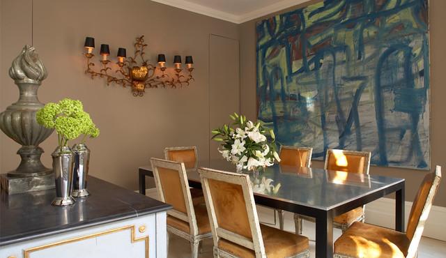 Manhattan Residence contemporary-dining-room