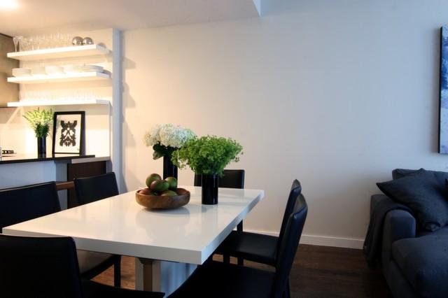 Manhattan Residence modern-dining-room