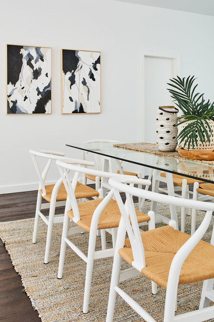 Manly Property Styling beach-style-dining-room