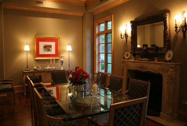 Manor House eclectic-dining-room