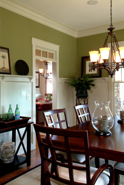 Maple Avenue Plan Interior traditional-dining-room
