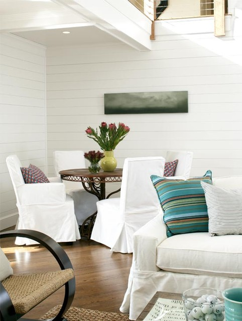 Marblehead Residence beach-style-dining-room