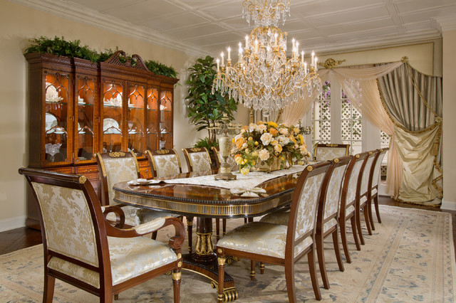 Marc Pridmore Designs Penthouse Traditional Dining