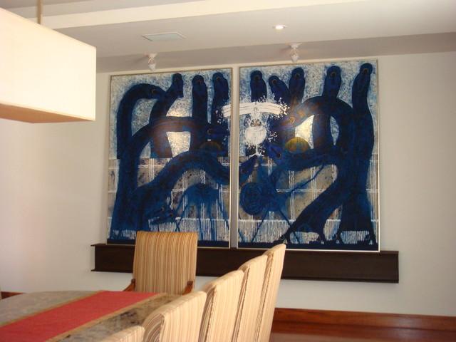 margarita Porraz contemporary-dining-room