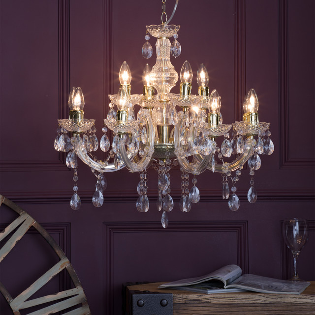 Marie therese chandelier 12 light chandelier gold marie therese chandelier 12 light chandelier gold shabby chic style dining aloadofball Images