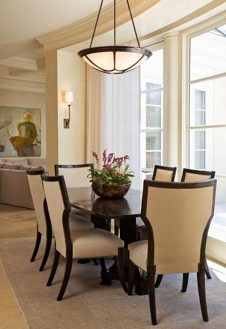 Marina Residence traditional-dining-room