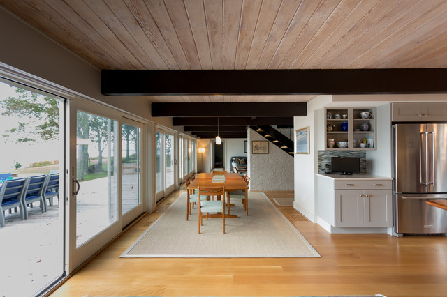 Marion Beach House Renovation Country Dining Room Boston By Anthi Frangiadis Associates Houzz Uk