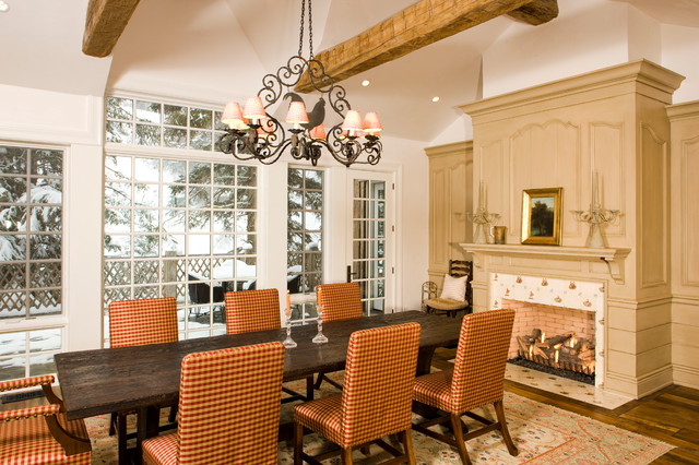 Maroon Creek Traditional Dining Room Denver By
