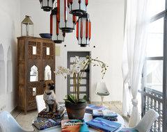 Marrakesh by Design Morrocan Homes Maryam Montague mediterranean-dining-room