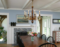Marthas Vineyard Home - Dining Room traditional dining room