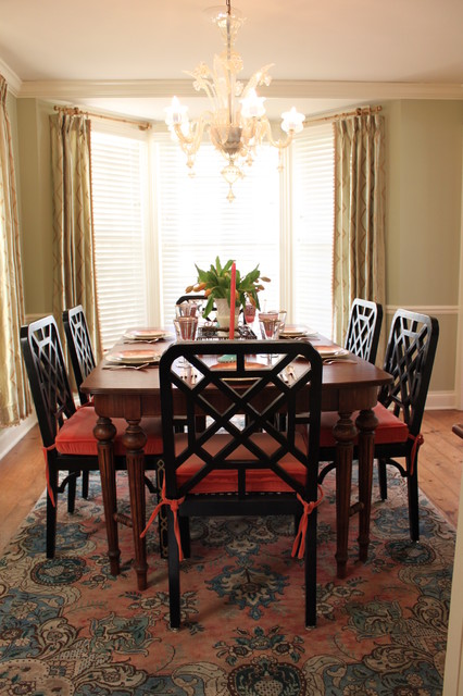 Mary Best Designs traditional-dining-room