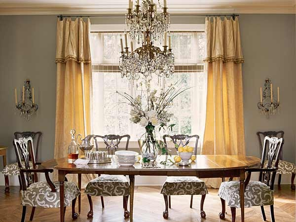 Mary Evelyn Interiors traditional dining room