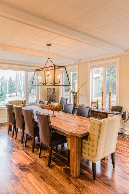 Mary Lake Cottage - Contemporary - Dining Room - other ...