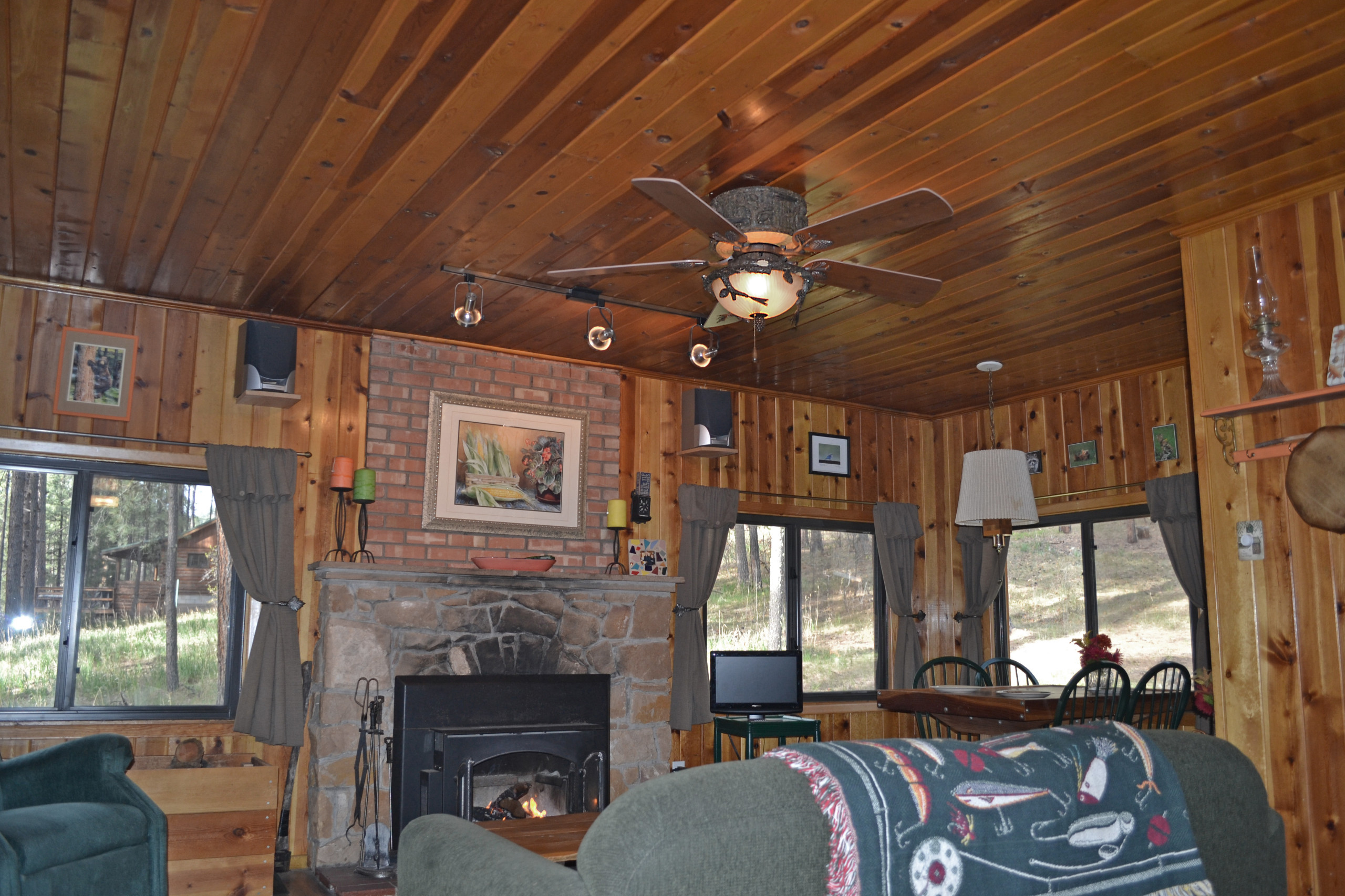 Rustic Ceiling Fans Houzz