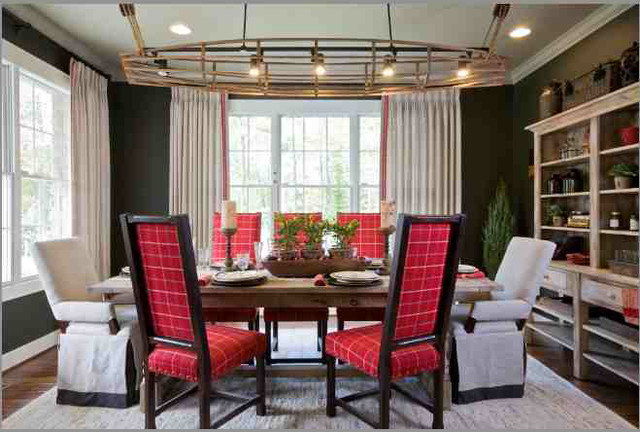 Maryland Green Designer Show Home traditional-dining-room