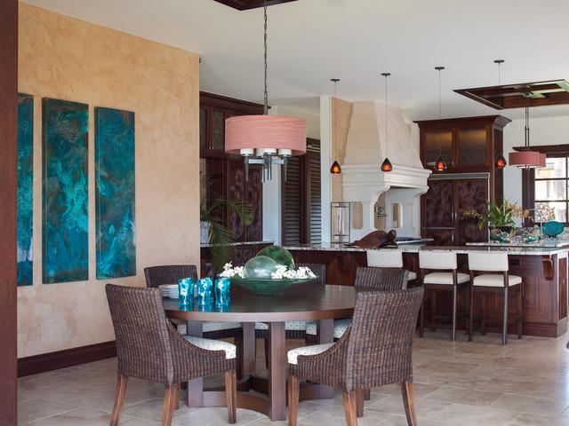 Mauna Kea home - Tropical - Dining Room - Hawaii - by Henderson Design Group