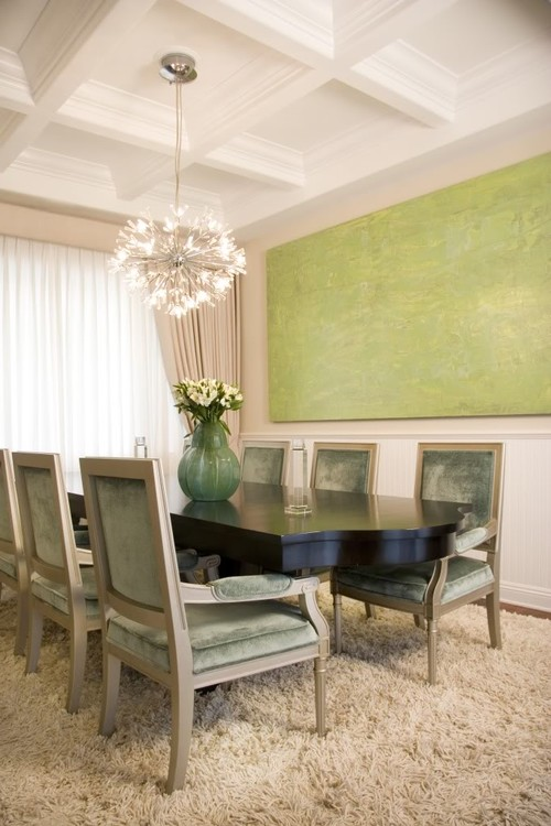 Traditional Dining Room by Hermosa Beach Interior Designers & Decorators Maison Luxe