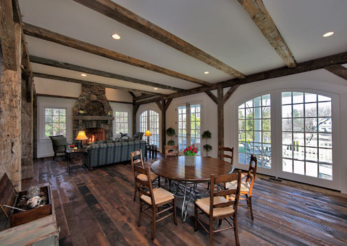 McDonnell Residence- Vineyard Quarters traditional-dining-room