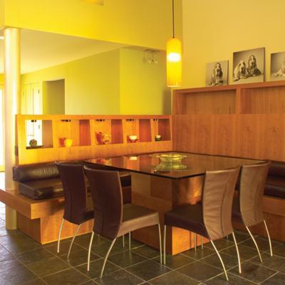 MEA - Novato Residence modern-dining-room