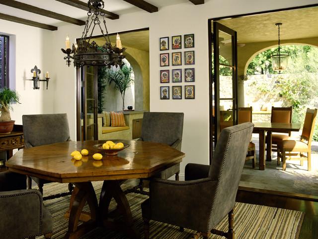 Mediterranean Classic mediterranean-dining-room