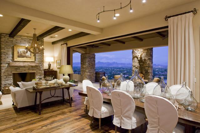 Mediterranean Dining Room rustic-dining-room