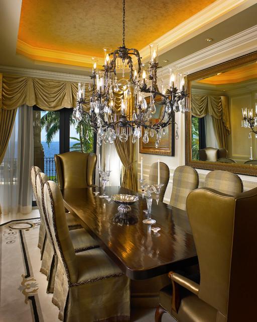 Mediterranean Dining Room Decor Tuscan Dining Room Decorating ...