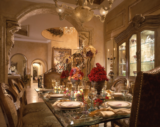 Perla S Own Home Mediterranean Dining Room Miami