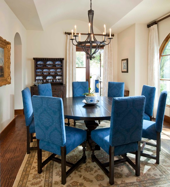 Mediterranean Style Dining Room Sets: Preston Hollow