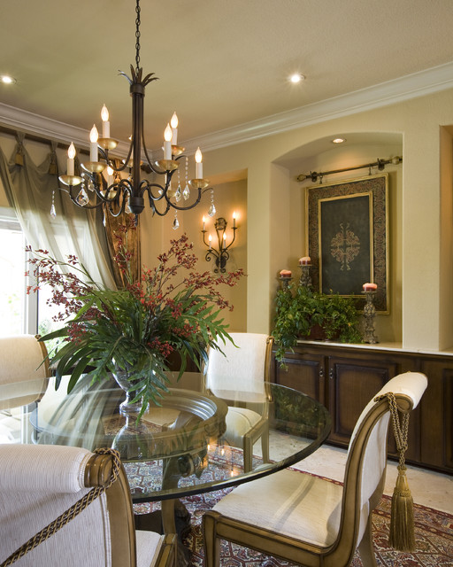 Dining Room Ideas Houzz: Mediterranean