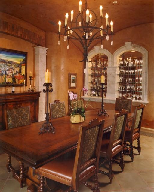 Mediterranean Dining Room: Mediterranean Dining Room