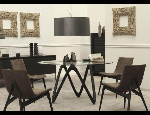 medusa designer table transitional dining room new