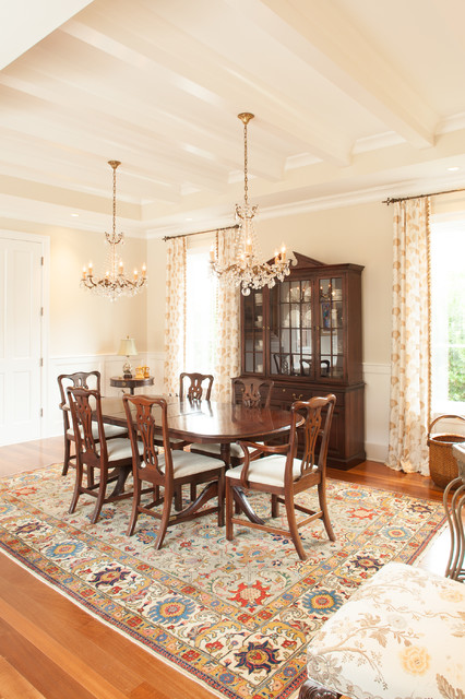 Menendez residence / courtyard home traditional-dining-room