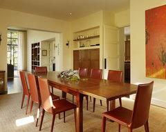 Menlo Park Residence transitional-dining-room