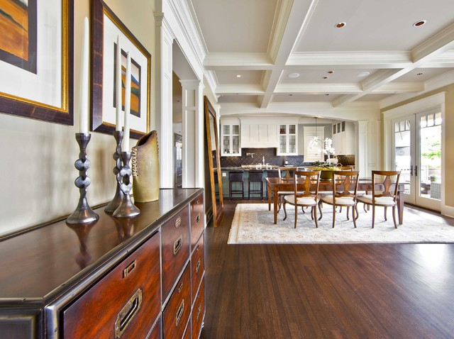 mercer island waterfront estate traditional dining room seattle