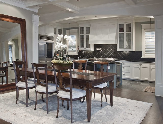 Mercer Island Waterfront Estate traditional-dining-room