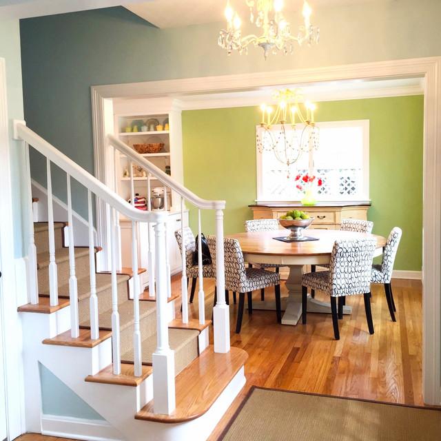 meridian kessler cottage style home dining room