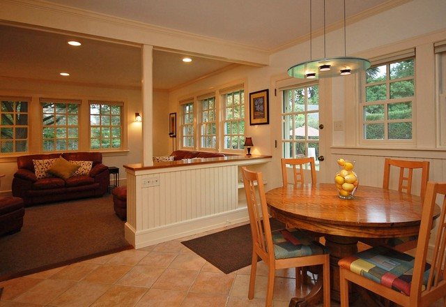 Merion Station Home eclectic-dining-room