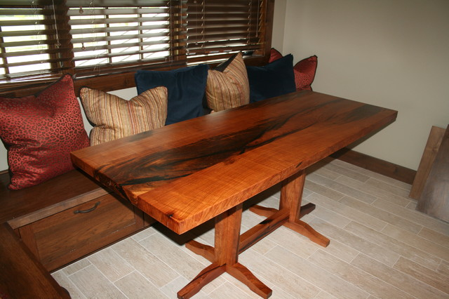 Mesquite Custom Tables Contemporary Dining Room Austin By WR Woodworking