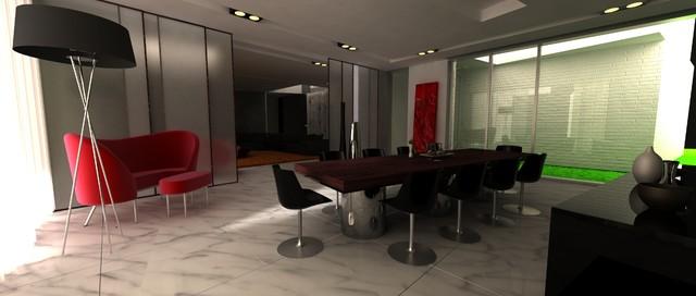 MetroPol Akcent modern-dining-room