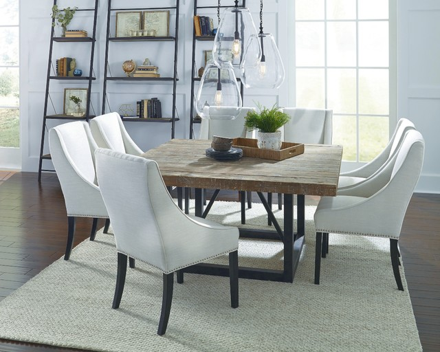Mia 60 Inch Square Dining Table   Rustic   Dining Room   Los ...